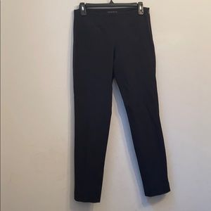 Theory black skinny pants
